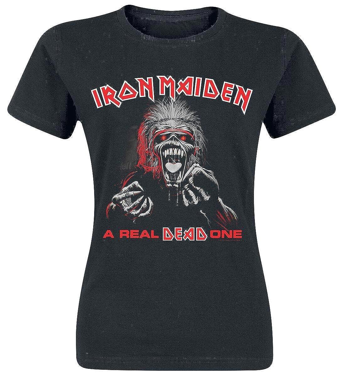 Iron Maiden A Real Dead One T-Shirt schwarz