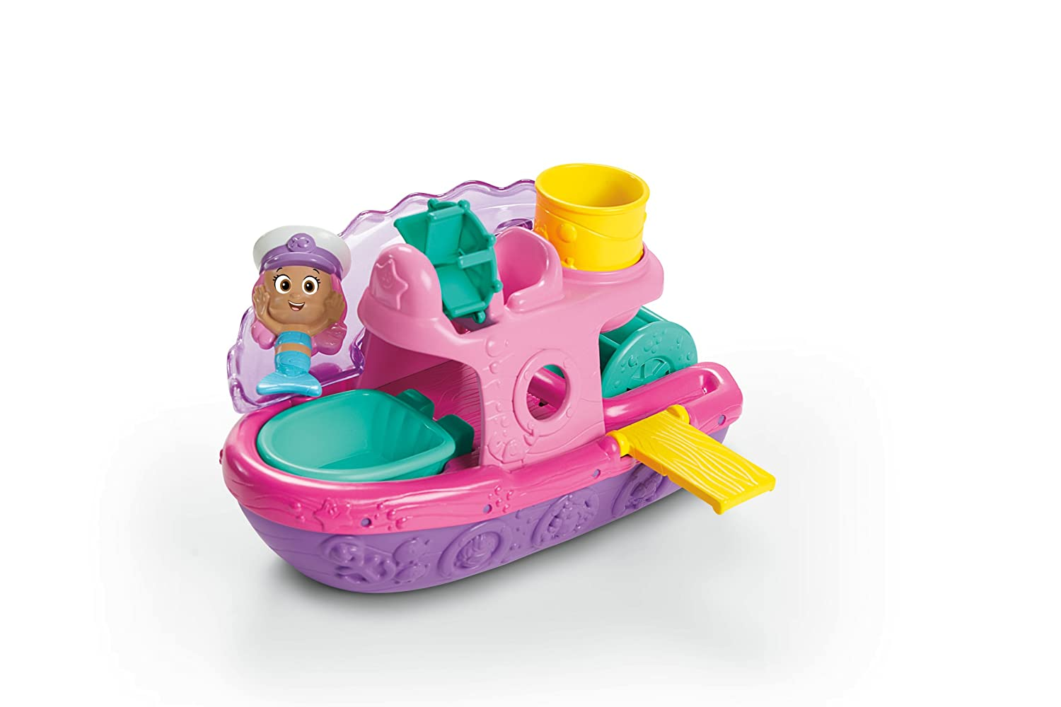 Amazon.com: Fisher Price Nickelodeon Bubble Guppies Splash U0026 Slid Bubble  Boat: Toys U0026 Games