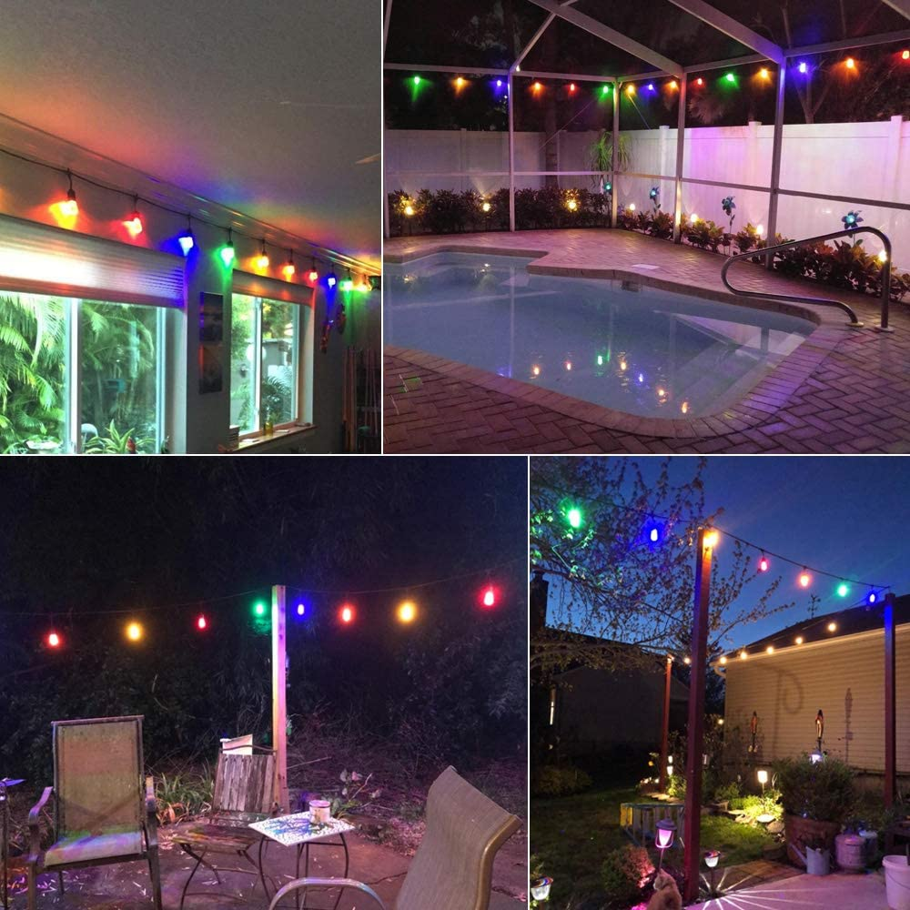 Brimax S14 Colored Led Bulbs Plastic For Christmas
