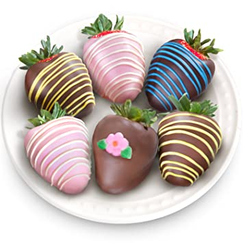 golden state fruit 6 piece chocolate covered strawberries - Christmas Chocolate Covered Strawberries