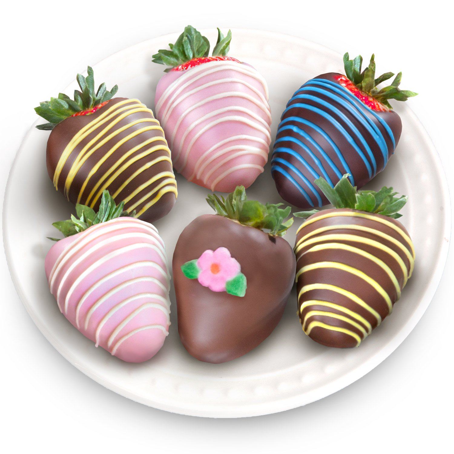 Golden State Fruit 6 Piece Chocolate Covered Strawberries by Golden State Fruit (Image #1)
