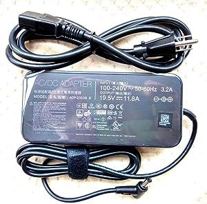 Original OEM for ASUS 19.5V 11.8A AC Adapter&Cord for ASUS ROG Zephyrus GX501VS-XS71