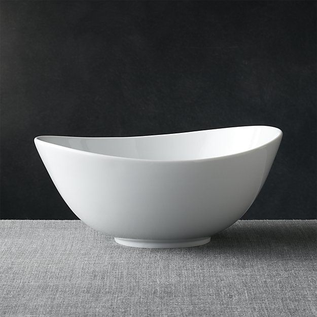 Swoop Large Bowl | Crate and Barrel