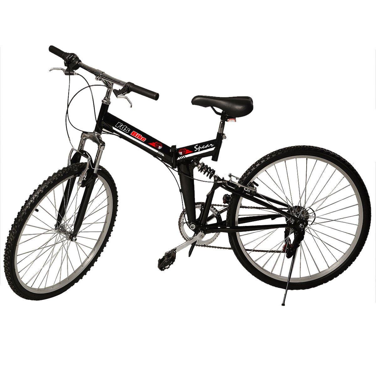 New 26 Folding 6 Speed Mountain Bike Bicycle School
