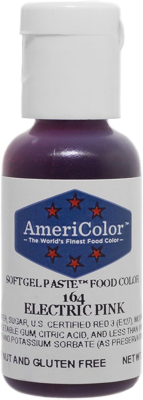 Americolor Gel Paste Food Color, Electric Pink