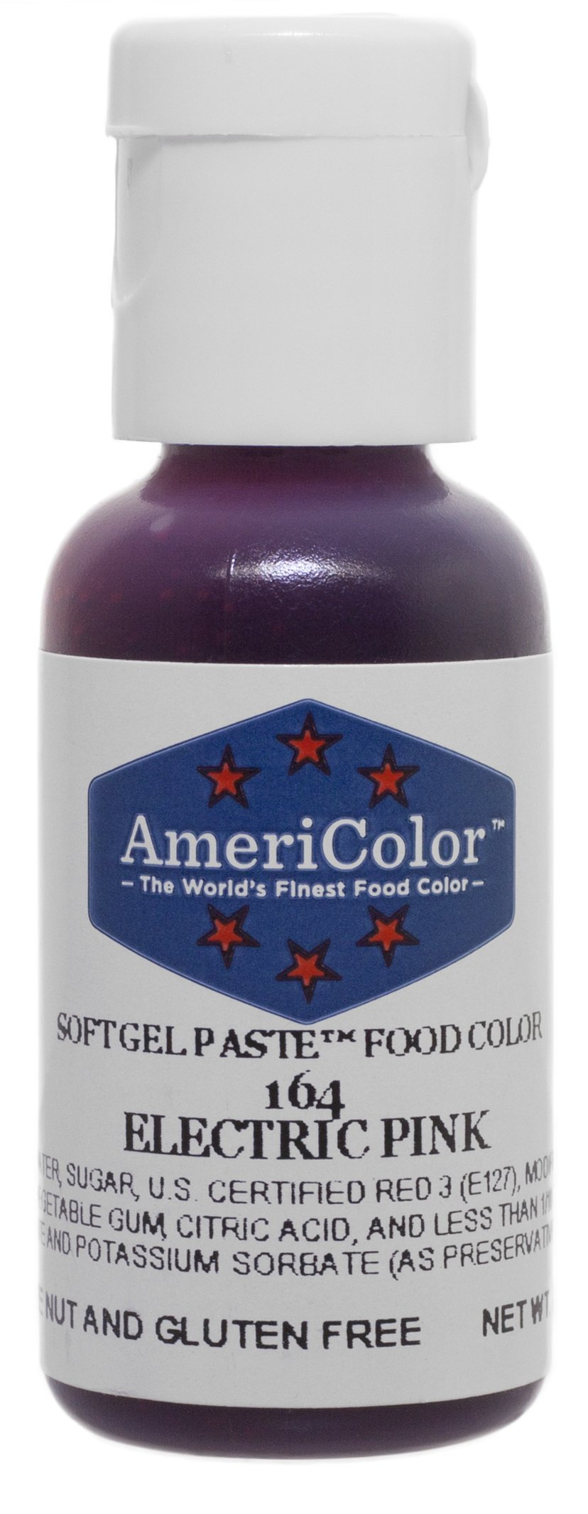 Amazon.com: Americolor Soft Gel Paste Food Color, .75-Ounce ...