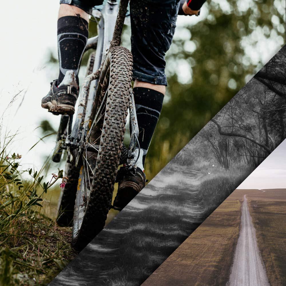 Heqishun 6 Piezas Palanca del Neum/ático Palancas Neumatico Bicicleta Acero Desmontable Bicicleta Cuchara Neum/ático Tama/ño 12cm 1cm