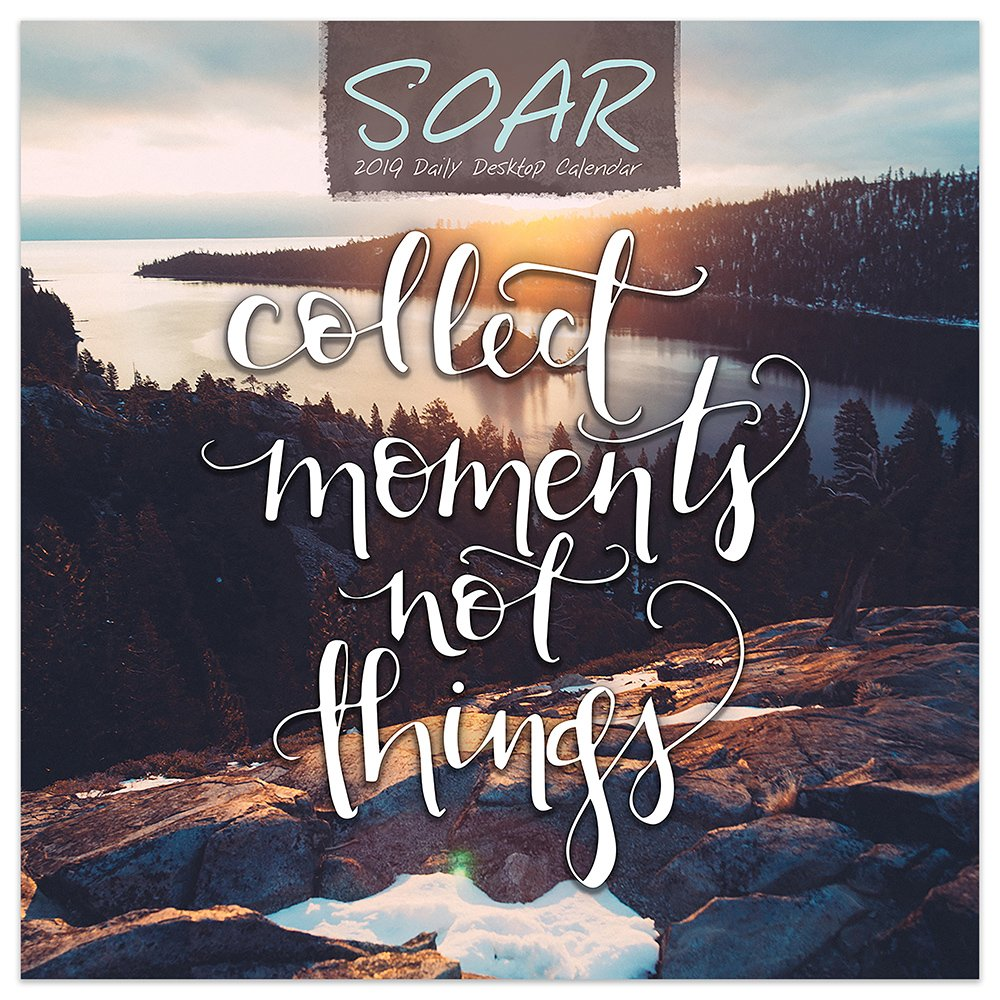 2019 Soar Inspiration Daily Desk Calendar