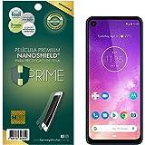 Pelicula HPrime NanoShield para Motorola One Vision, Hprime, Película Protetora de Tela para Celular, Transparente