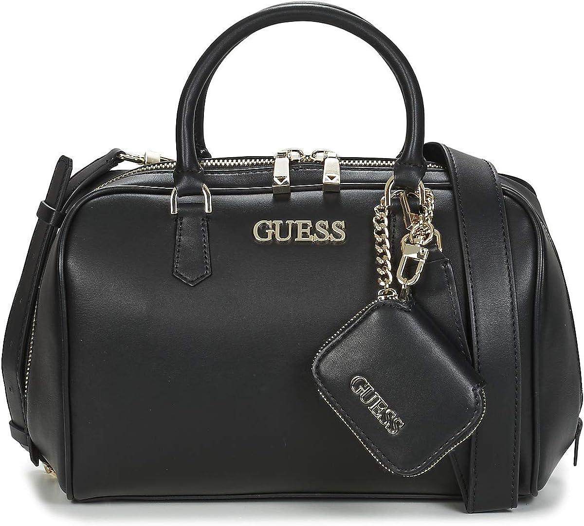 Guess sac de sacoche de bo/îte noire de calista