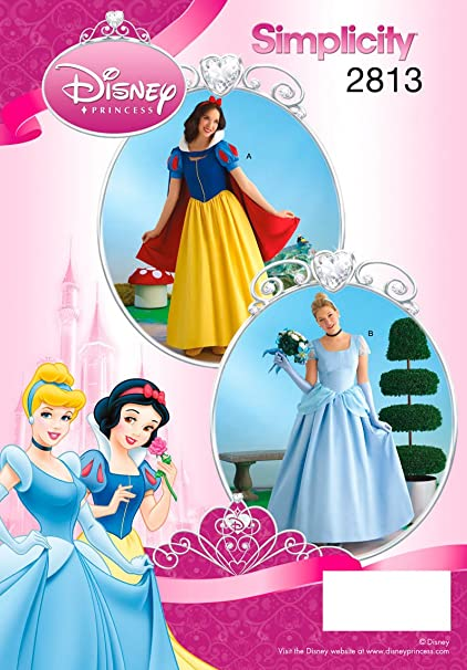 Amazon Simplicity Sewing Pattern 40 Misses Costumes RR 40 Mesmerizing Disney Sewing Patterns