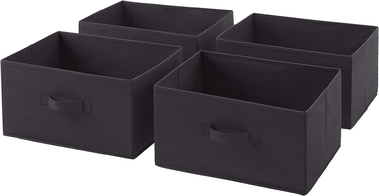 Basics Cajones de repuesto para unidad de almacenamiento de tela con 3 cajones rojo
