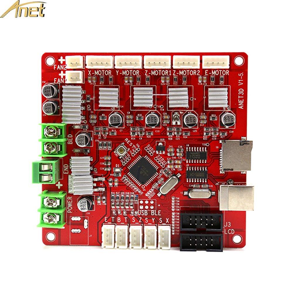 Anet Tablero De Control De Reemplazo De Autoensamblaje V1.5