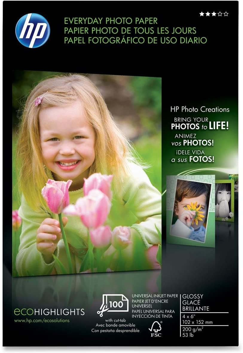 HP Everyday Glossy Photo Paper