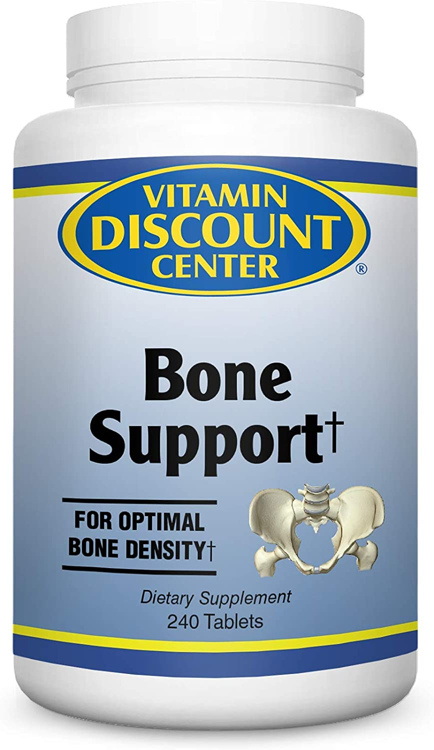 Vitamin Discount Center Bone Support Supplement, 240 Tablets