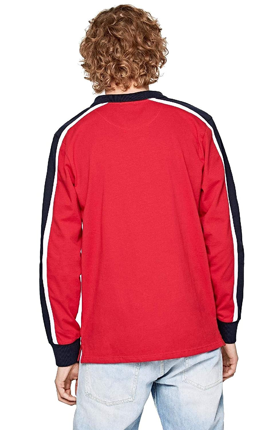 Pepe Jeans - Polo IKER Hombre Color: 264 Royal Red Talla: Size L ...