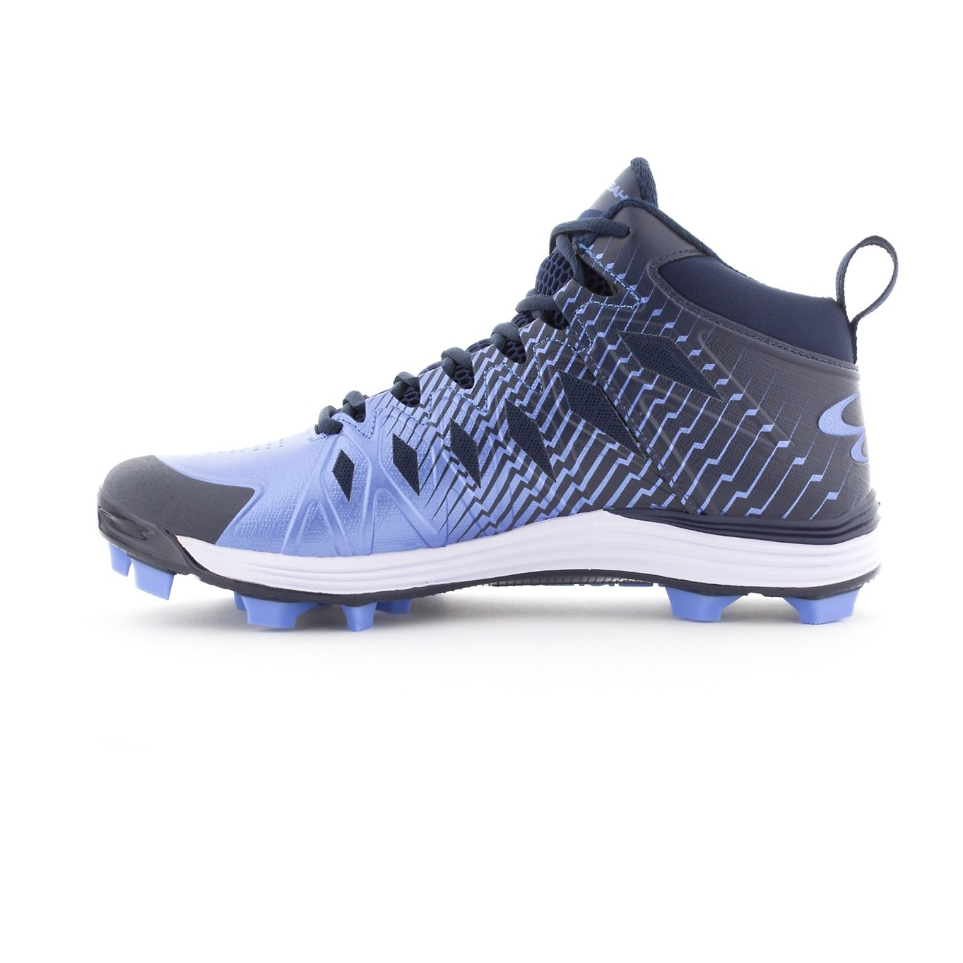 feae49be7d51 Boombah Men Mid s Squadron Molded Mid 7751 Cleats - 15 Molded Color ...