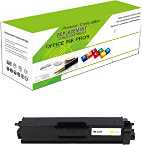 Premium Ink&Toner | Re-Manufactured Toner Cartridge Replacement for TN-339Y – Standard Yield Laser Printer Cartridge Compatible with Brother