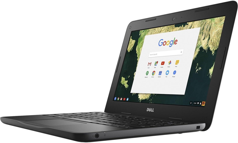 Dell Chromebook 11-3180 Intel Celeron N3060 X2 2.48GHz 4GB 16GB 11.6 inches, Black (Renewed)