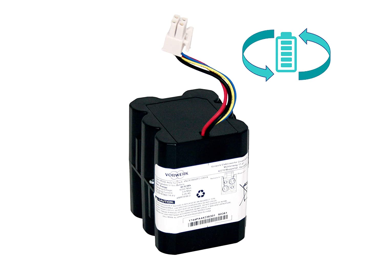 Batería de recambio PN48245 para Vorwerk VR200 con aumento de potencia de 7 Ah.: Amazon.es: Industria, empresas y ciencia