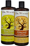 Dr. Woods Pure Liquid Castile Soap with Organic Shea Butter 32 Ounce Variety Packs