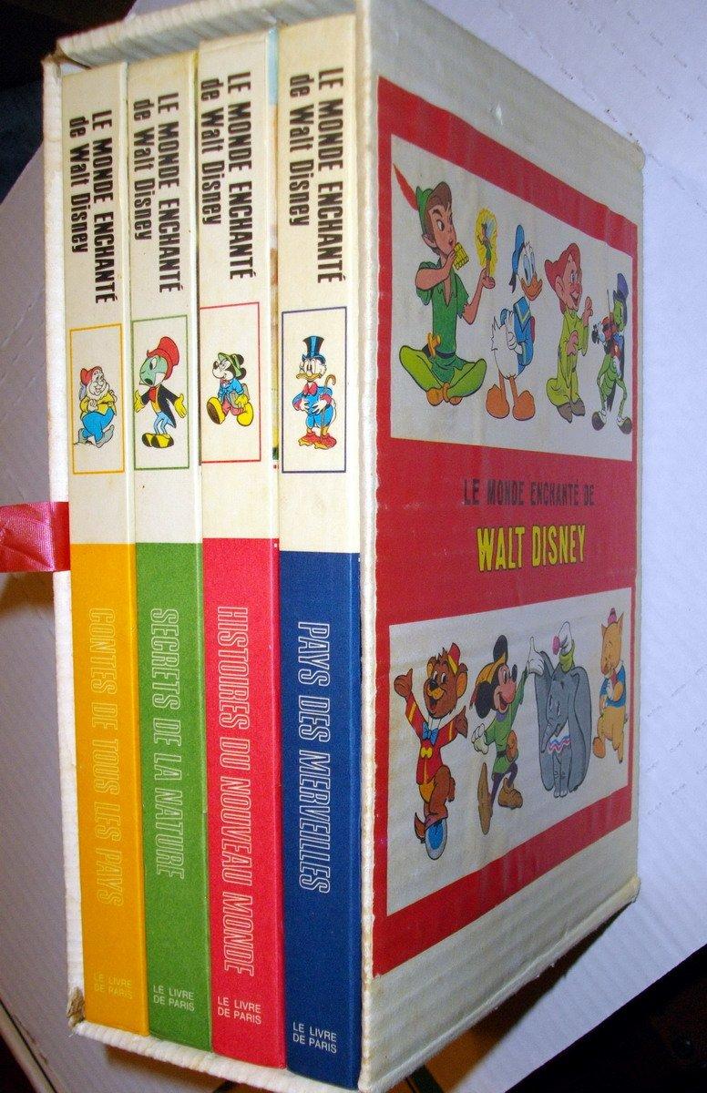 Le Monde Enchante De Walt Disney Box Set Of 4 Pays Des
