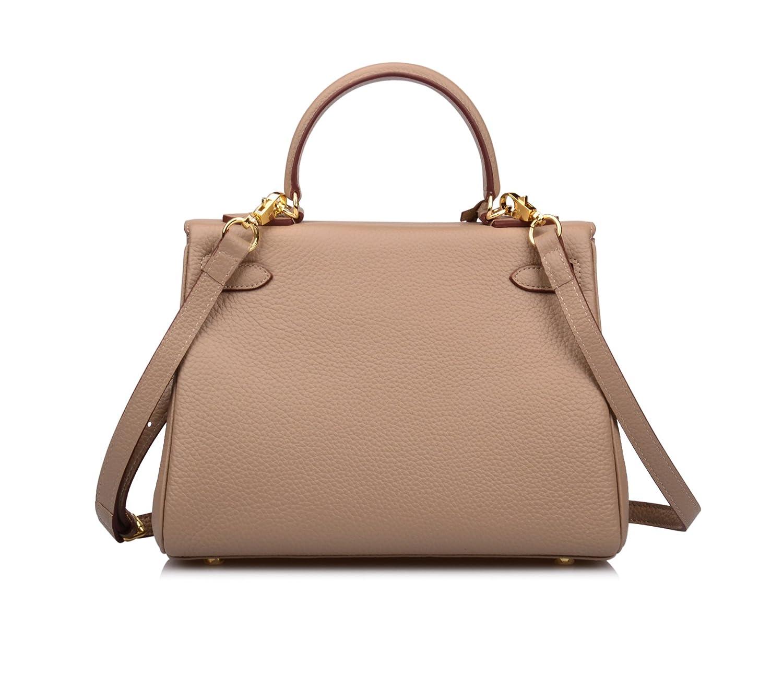 Ainifeel Womens Padlock 32CM 28CM 25 CM Shoulder Handbags Purses Hobo Bag