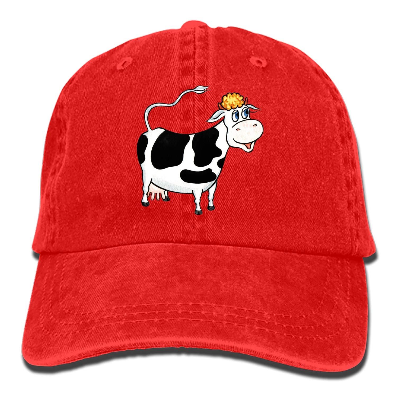 Unisex Bison Washed Cotton Baseball Cap Vintage Adjustable Dad Hat