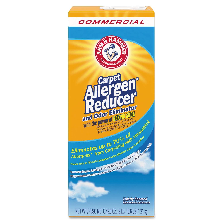 Arm & Hammer Carpet and Room Allergen Reducer and Odor Eliminator, 42.6 oz Box
