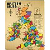 Bigjigs Toys Puzzle ad incastro Isole Britanniche