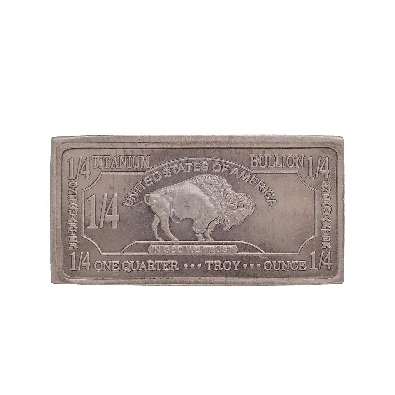 10 Gram Copper Bullion Bar Buffalo