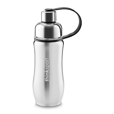 Amazon.com: Thinksport botella de agua de, acero inoxidable ...