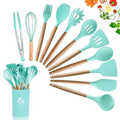 Amazon.com: MIBOTE - Juego de utensilios de cocina de ...