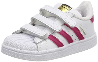 adidas Shoes – Superstar Cf I white/pink/white size: 23