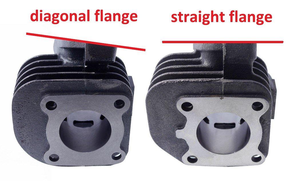 Kolben 2EXTREME 50ccm 12mm CPI Aragon 50 TYP:JR45 Zylinder