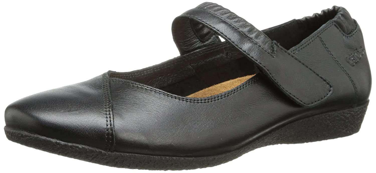 Taos Women's Strapeze Mary Jane Flat B00JVWQVAG 37 EU/6-6.5 M US|Black