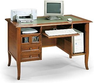 casa//ufficio//stazione di lavoro per laptop//tavolo Scrivania carrello da computer portatile mensole in legno per tastiera con rotelle 80 cm x 48 cm x 75,9/cm Wood
