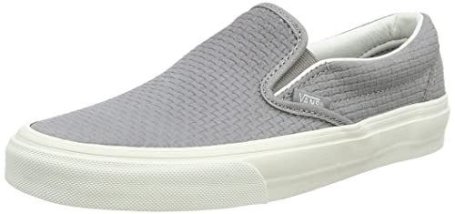 42447c4e10 Vans Classic Slip-On Braided Suede Wild Dove Skate Shoes  Amazon.ca ...