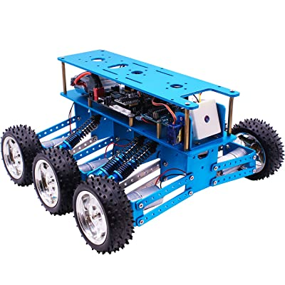Yahboom Coding Robot for Adults 6WD Off-Road Kit with HD Camera Designed for Competitions: Computers & Accessories