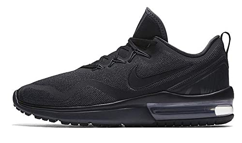 Image Unavailable. Image not available for. Colour  Nike Air Max Fury  Running Shoes Men s Black Sneakers (11 ... a39ad602e