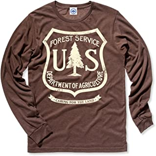 product image for Hank Player U.S.A. US Forest Service Men's Long Sleeve T-Shirt
