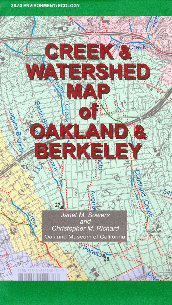Creek & Watershed Map of Oakland & Berkeley pdf epub