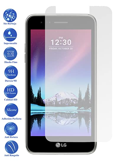 Todotumovil Protector de Pantalla LG Optimus K4 2017 de Cristal ...