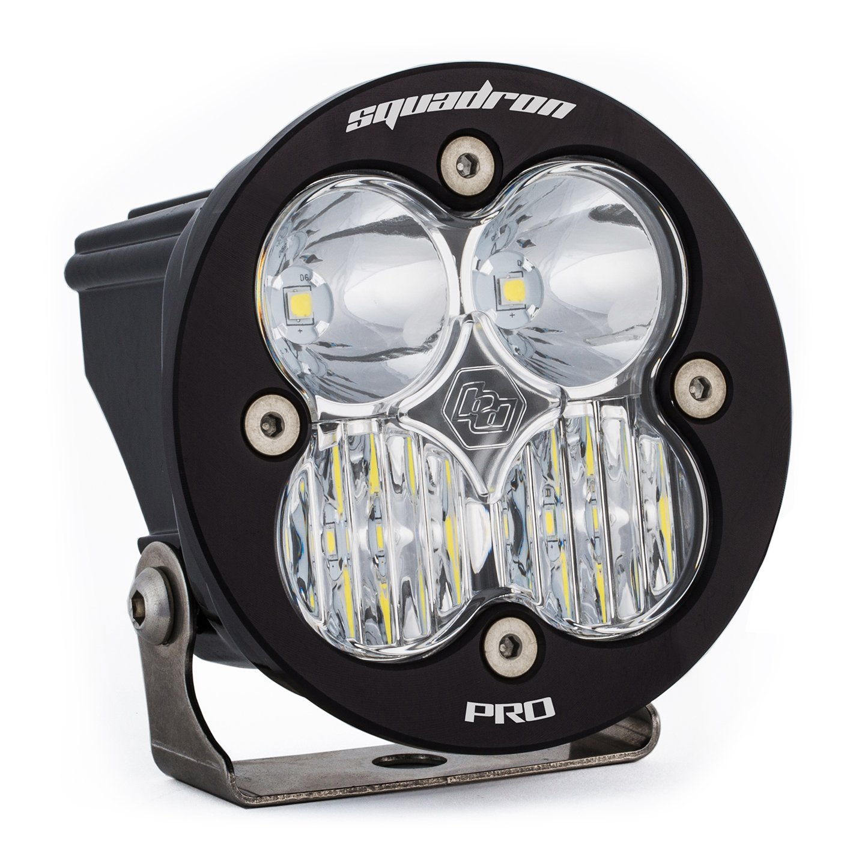 LED Light Pod Clear Lens Driving/Combo Pattern Each Squadron R Pro