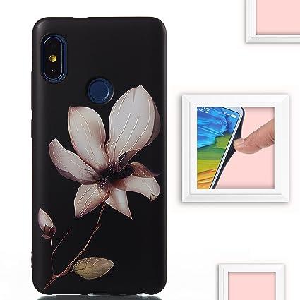 KISCO para Funda XiaoMi Mi A2 Lite,[Resistente al Rayado] Carcasa Suave TPU Patrón Diseño Funda Case para XiaoMi Mi A2 Lite-2