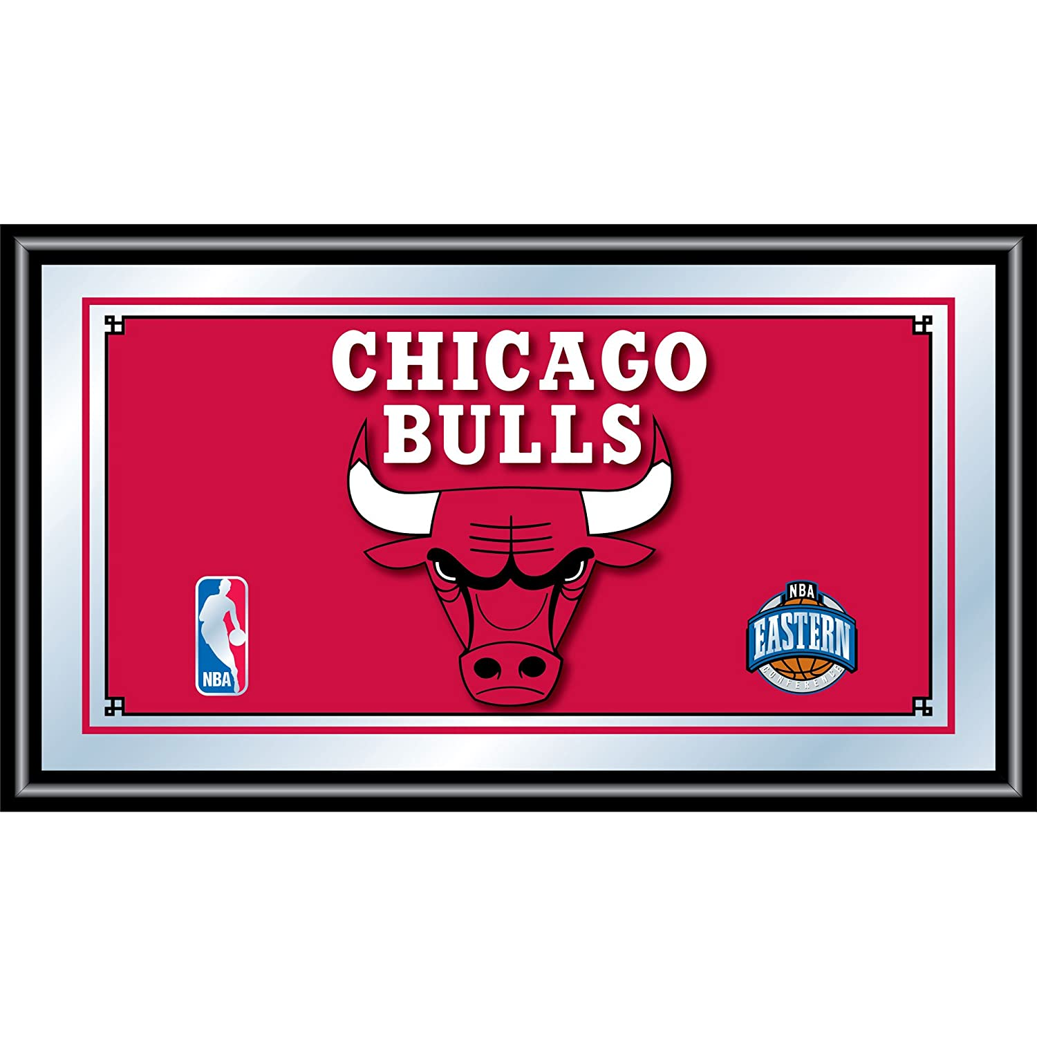NBA Chicago Bulls Framed Logo Mirror