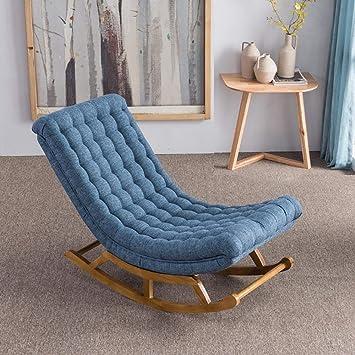 Linqly Chaise Longue à Bascule, Design Moderne, Rembourrage
