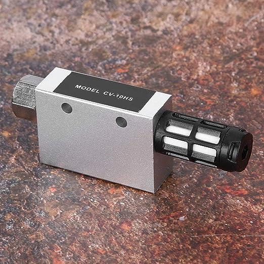 CV-10HS Vakuumerzeuger Aluminiumlegierung Kompakter pneumatischer Luftvakuumerzeuger mit Schalld/ämpfer