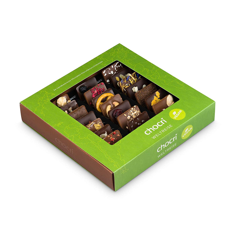 Vegane Lebensmittel - Schokolade