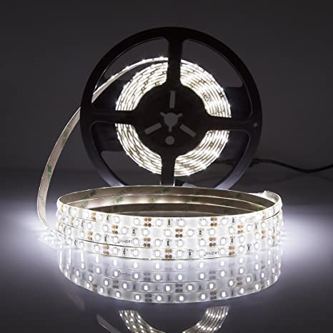 LEDMO Striscia LED, Striscia LED bianco 6000K, SMD2835-300led IP65 ...